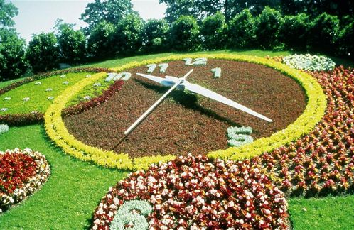 geneva flower clock