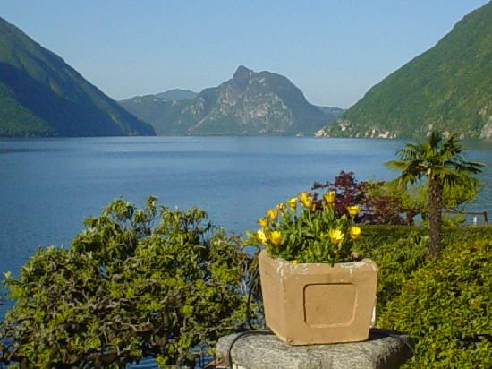 lake lugano switzerland italy
