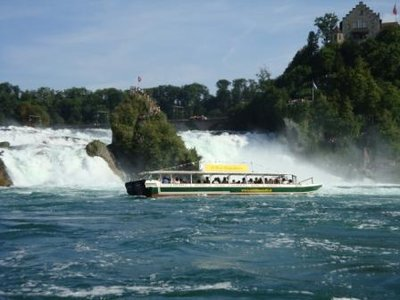 rhine waterfalls switzerland